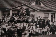 Historisches Foto Einwohner Hof Barnin