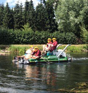 Teilnahme Badewannenregatta 2019 zum dritten mal mit Titelgewinn